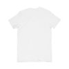 back of a blank white t-shirt