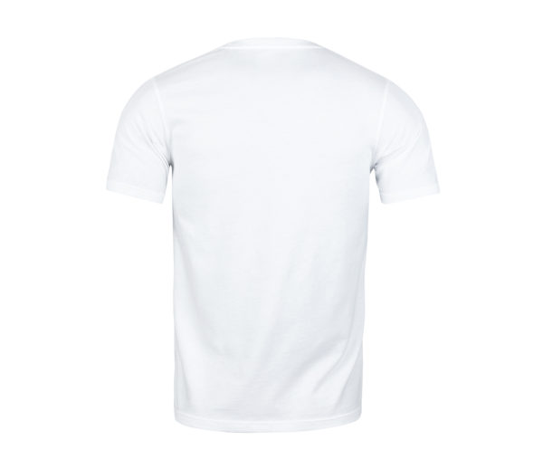 back of a White T-shirt