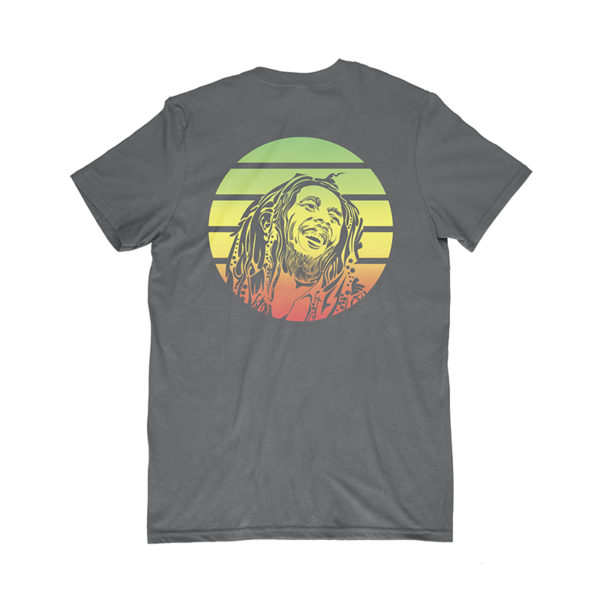 iron like a lion from zion black t-shirt back