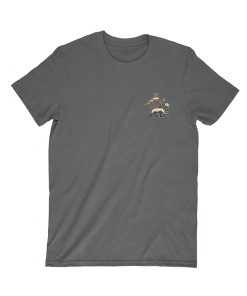 iron like a lion from zion black t-shirt front