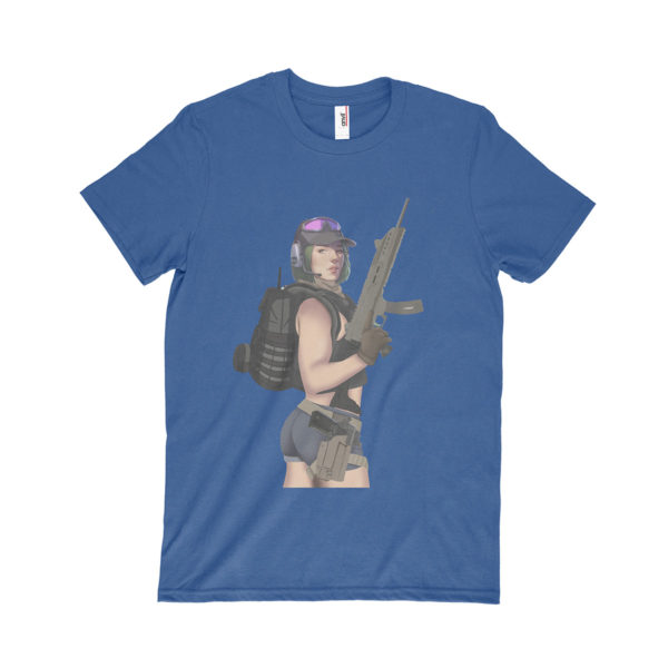 blue ela tshirt
