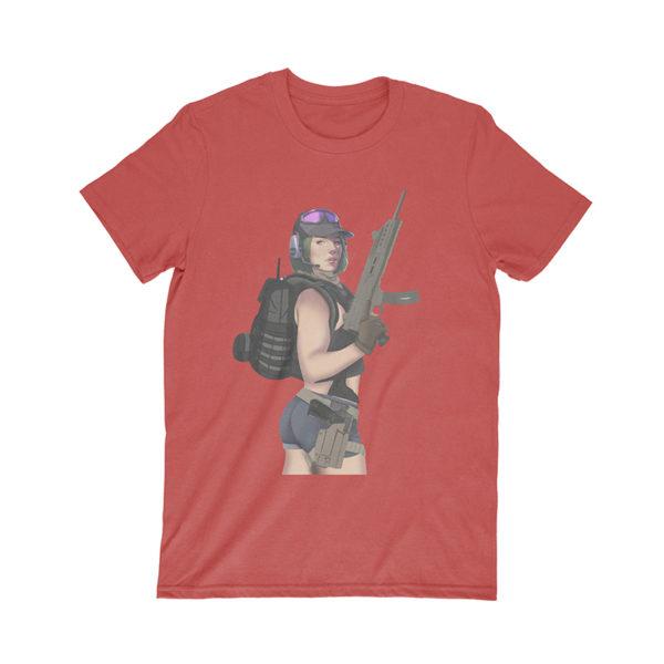 red ela tshirt